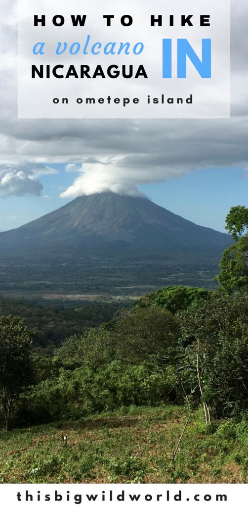 Want to do some hiking in Nicaragua? Hike Volcano Maderas on Ometepe Island. #nicaragua #volcano #hiking