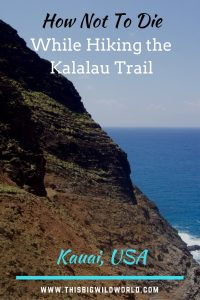 The Kalalau Trail winds along the beautiful Napali Coast in Kauai. But the trail is difficult. Read about Kalalau Trail hiking tips, Kalalau Trail packing tips, Kalalau Trail permit tips, Kalalau Trail camping tips and more! #kauai | #kalalautrail | #kauaitravel | #hawaiianislands | #napalicoast