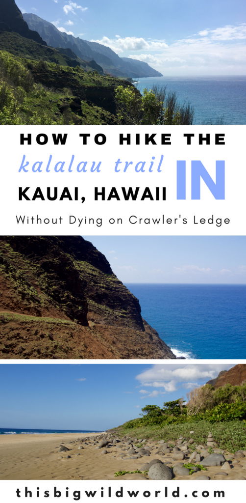 The Kalalau Trail winds along the beautiful Napali Coast in Kauai. But the trail is no joke. Read about Kalalau Trail hiking tips, Kalalau Trail packing tips, Kalalau Trail permit tips, Kalalau Trail camping tips and more! #kauai | #kalalautrail | #kauaitravel | #hawaiianislands | #napalicoast
