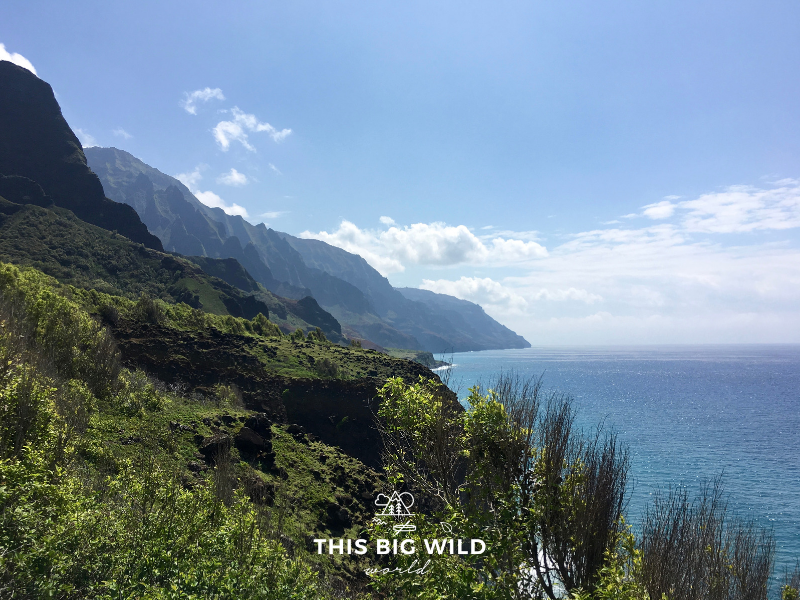 The Na Pali Coast hike along the Kalalau Trail is not for the lighthearted.