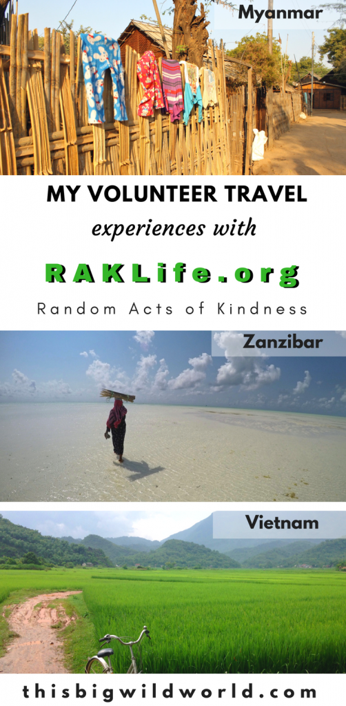 Are you having trouble finding the right volunteer travel organization? I share my experiences volunteering abroad with RAKLife.org, a non-profit that performs random acts of kindness in communities around the world. Read more about their mission here. #volunteertravel | #voluntourism | #ethicaltravel | #culturaltravel