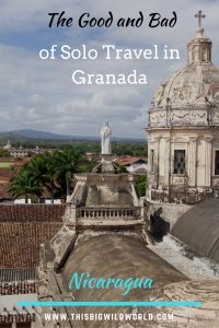 Granada Nicaragua is a vibrant and beautiful city right on Lake Nicaragua. It's a great place to visit as a solo traveler, but there are some things I'd do differently. This post includes tips on where to eat in Granada, where to stay in Granada, day trips from Granada, Laguna de Apoyo, and things to do in Granada. #granadanicaragua | #nicaraguaitinerary | #lagunadeapoyo