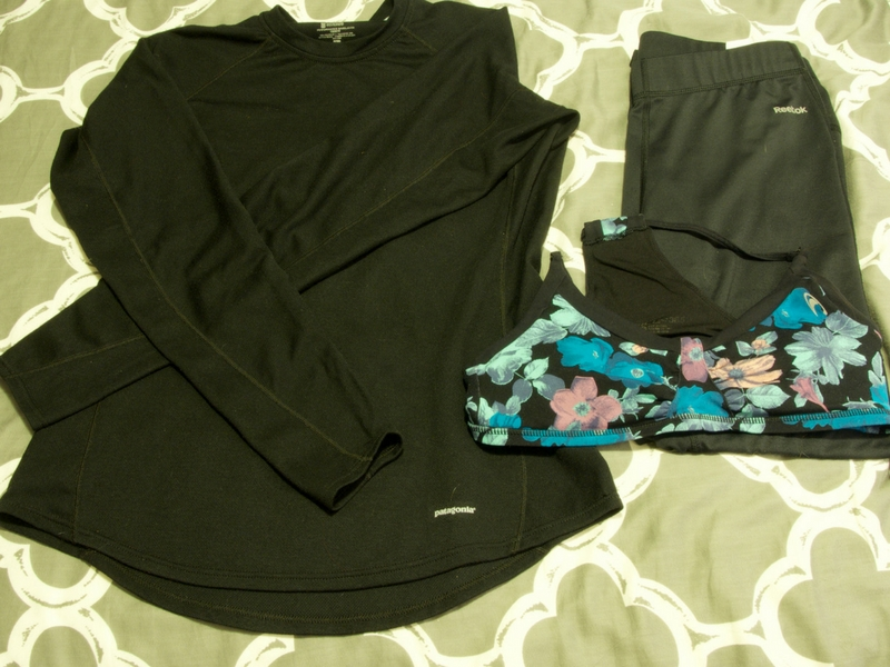 Don't forget to include pajamas Inca Trail packing list, including long sleeve base layer, sports bra, and base layer pants.