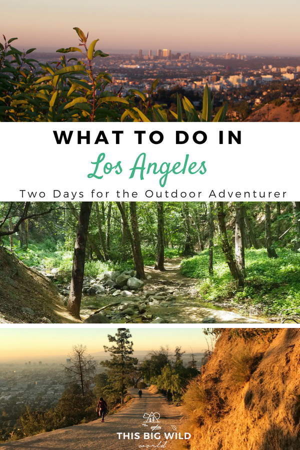 "After living in LA for four years, I finally found the ""other"" side of this city. Enjoy two days exploring the more outdoorsy side of Los Angeles! Where to hike in LA, where to eat in LA, outdoor things to do in LA, and more! #la 