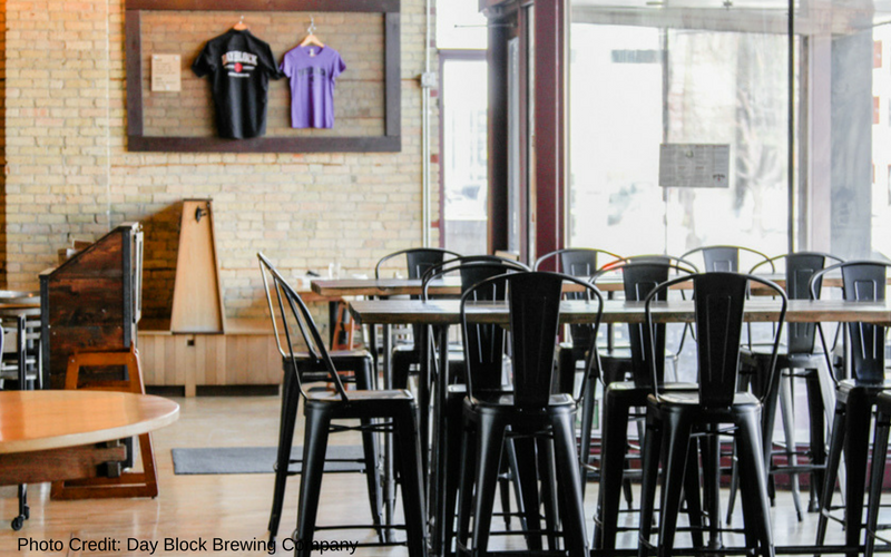 Day Block Brewing Company is one of the best Minneapolis breweries, located in the Mill City neighborhood.