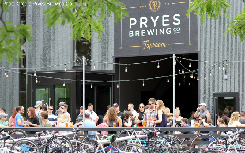 Pryes Brewing Co. is one of the best Minneapolis Breweries, located in the North Loop along the banks of the Mississippi River.