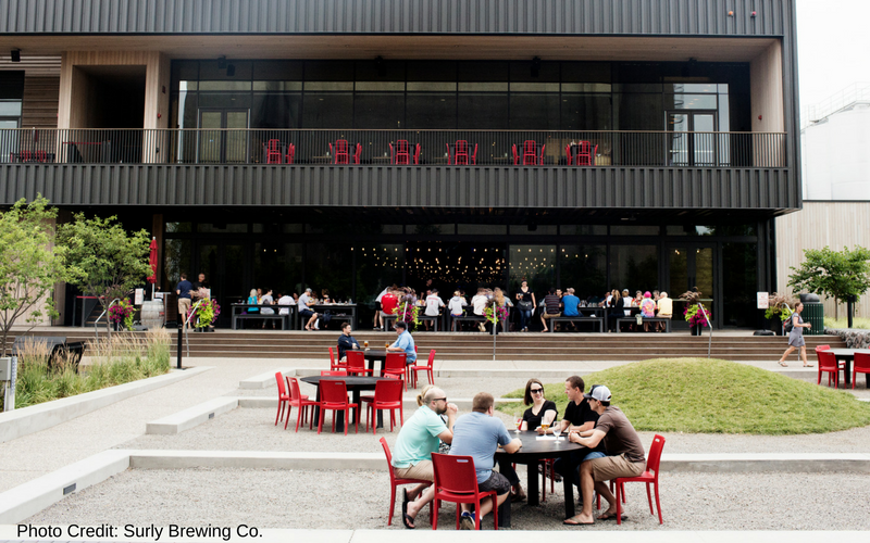 Surly Brewing Co. is one of the best Minneapolis breweries, located close to the University of Minnesota campus.