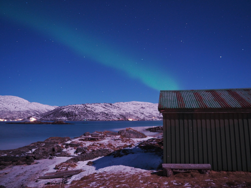 Chasing the Northern Lights is one of the things to do in Tromso Norway.