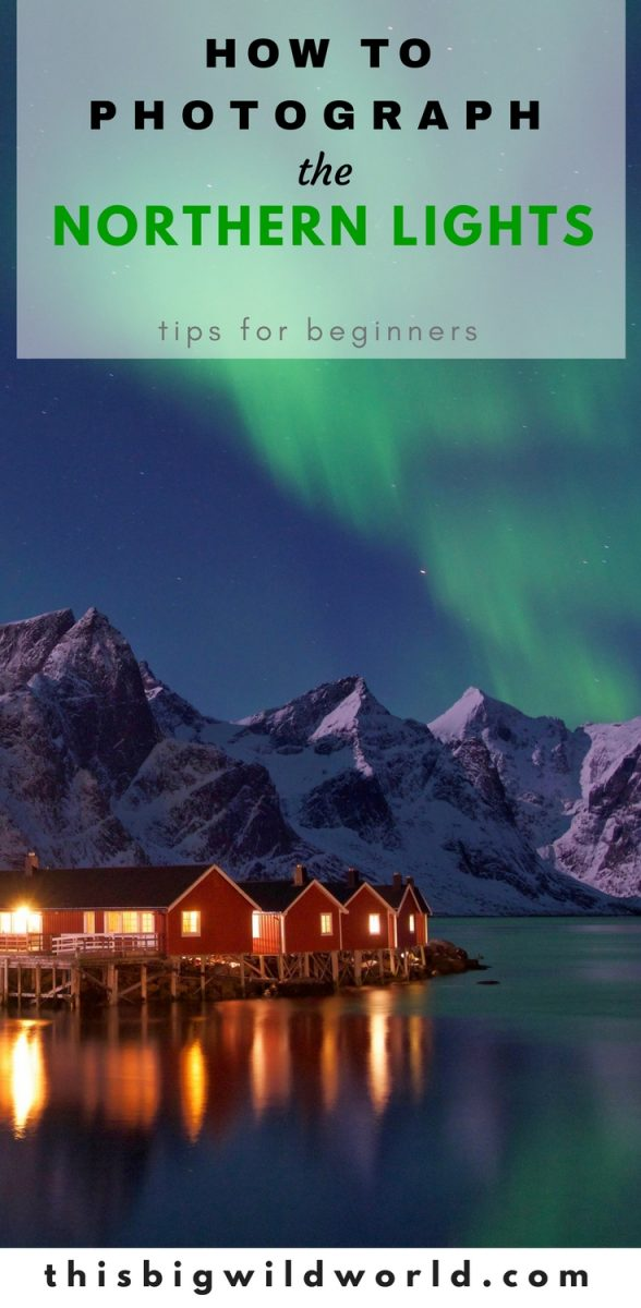 How to photograph the Northern Lights for beginners. Night photography can be frustrating, but it doesn't have to be. Photographing the Northern Lights on your phone, GoPro or digital camera including tips for photographing the Northern Lights, gear for photographing the Northern Lights, settings for photographing the Northern Lights and more! norway | photography | nighttime photography | photography tips