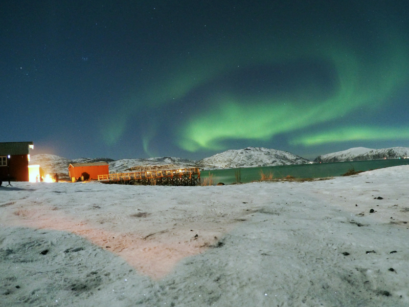 Photographing the Northern Lights is simple with a GoPro or any sport camera.