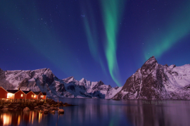 Photograph the Northern Lights with any camera with a manual setting.