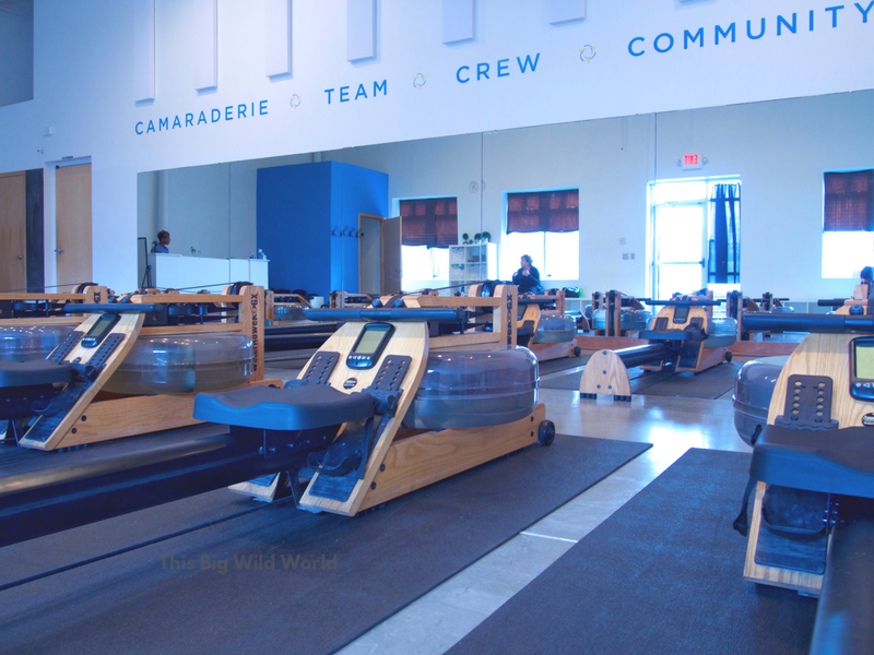 Rowing improves hiking fitness. Try WeRow, one of the best gyms in MInneapolis.
