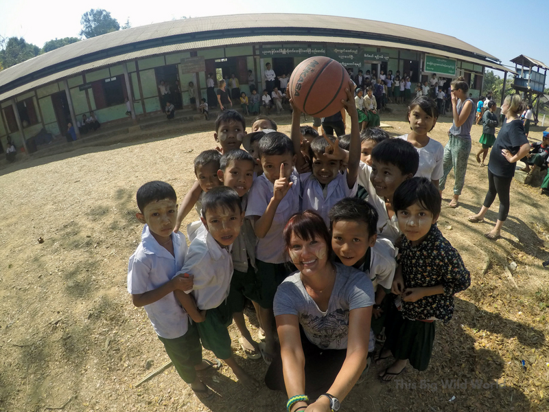 Learning to see the world from another's perspective while playing with schoolchildren in a remote village in Myanmar.
