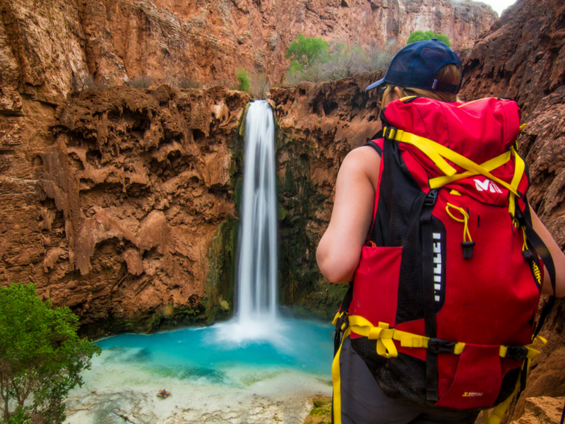 She Dreams of Alpine hiking Havasu Falls.