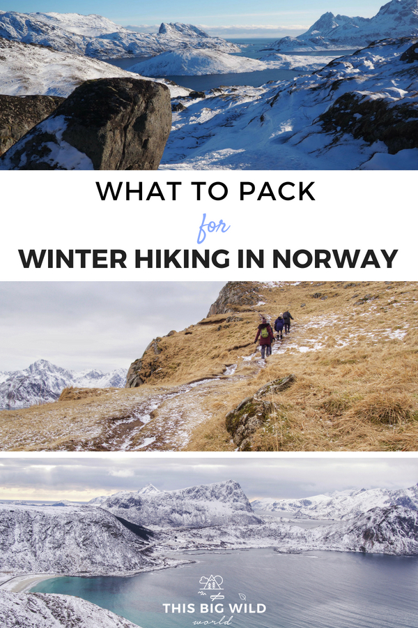Prepared Girl's are cool, confident and ready for any adventure. Find out what to pack for winter hiking in Norway and what to leave behind, without breaking your budget! #norway | winter hiking gear | winter packing list | winter packing guide