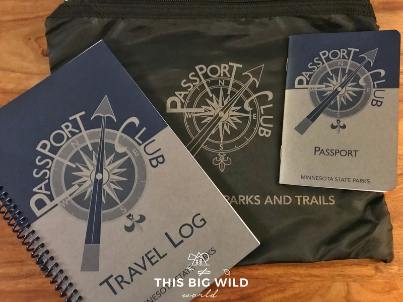 The Minnesota State Parks Passport comes with a travel log to record your adventures!
