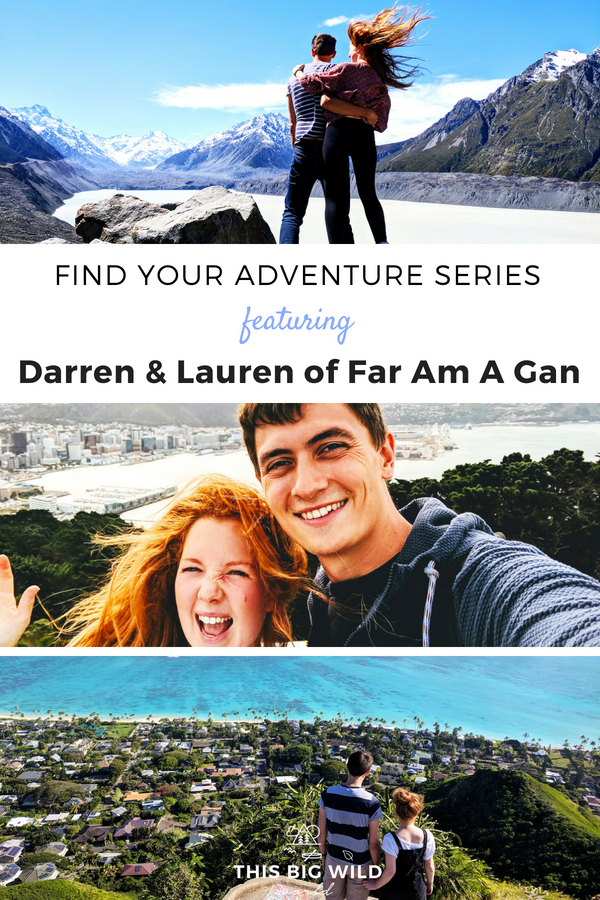 What does adventure mean to you? Find your adventure travel inspiration with Darren and Lauren of Far Am A Gan travel blog. This monthly series brings you outdoor adventure stories, adventure travel tips, and adventure travel inspiration told by outdoor adventurers and travel bloggers. #adventure #adventuretime