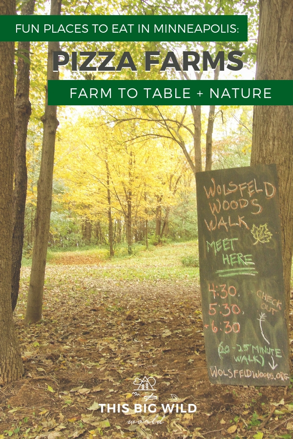 Have you tried a pizza farm yet? Well you should! Pizza farms are just one of the fun places to eat in Minneapolis Minnesota. Enjoy farm-to-table pizza, outdoor dining, hiking, and more! #minneapolis #minnesota #midwestus #midwestusa