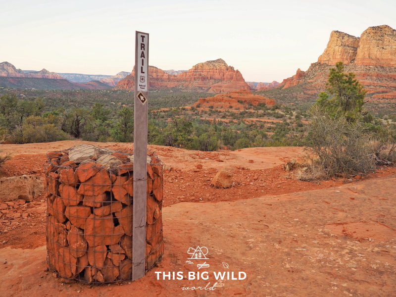 Scramble up the Bell Rock Climb hike to take in sweeping views of the red rocks at sunset.