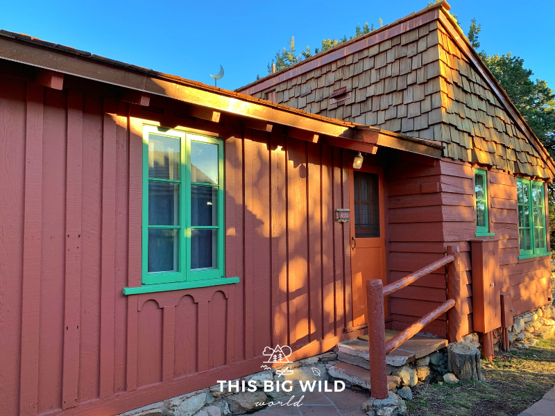 Bright Angel Cabins is a great place to stay at the Grand Canyon South Rim.