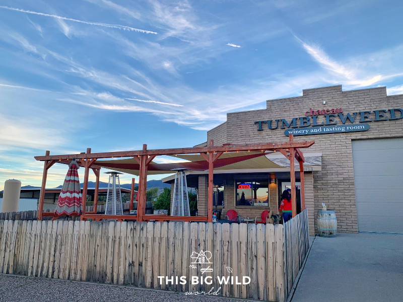 Visit the quirky Chateau Tumbleweed Tasting Room in Cottonwood on your Arizona road trip.