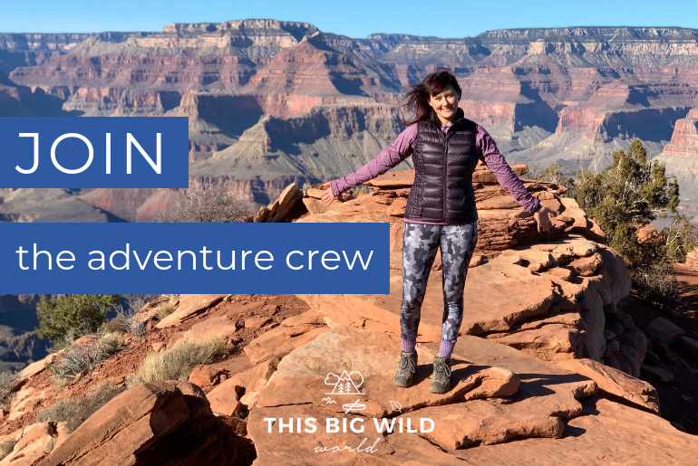 Join the adventure crew by subscribing to my monthly newsletter filled with adventure inspiration, travel tips, and more!
