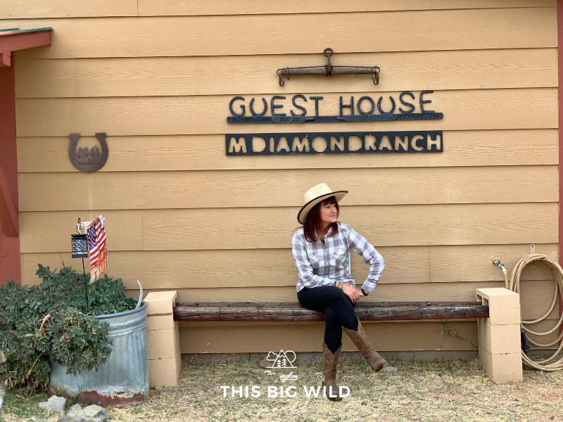 Stay overnight at The M Diamond Ranch Guesthouse, which sleeps 6 adults.