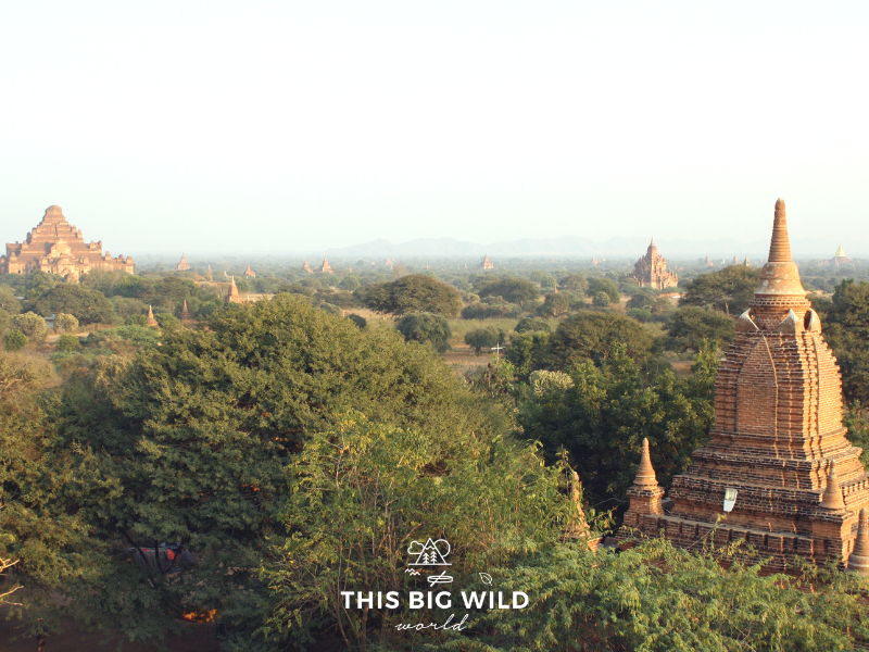 There are 1000's of temples and pagodas to explore while visiting Bagan in Myanmar.