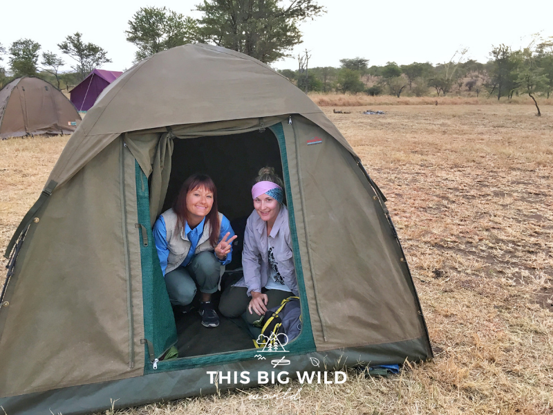 If you don't mind roughing it in a shared tent on your safari, you can cut your costs by more than 70%.