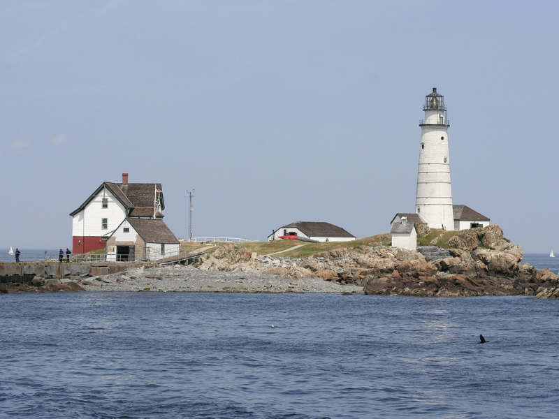 Boston Harbor Islands State Park offers epic views of the Boston skyline. The park is made up of 13 islands, accessible by private boat, kayak or ferry.