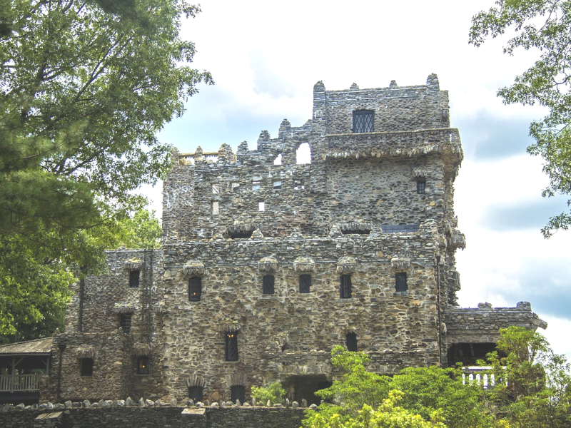This unique state park includes the century old Gillette's Castle in Connecticut. Visitors can explore the inside of the castle as well as hike around the 122 acres surrounding it.