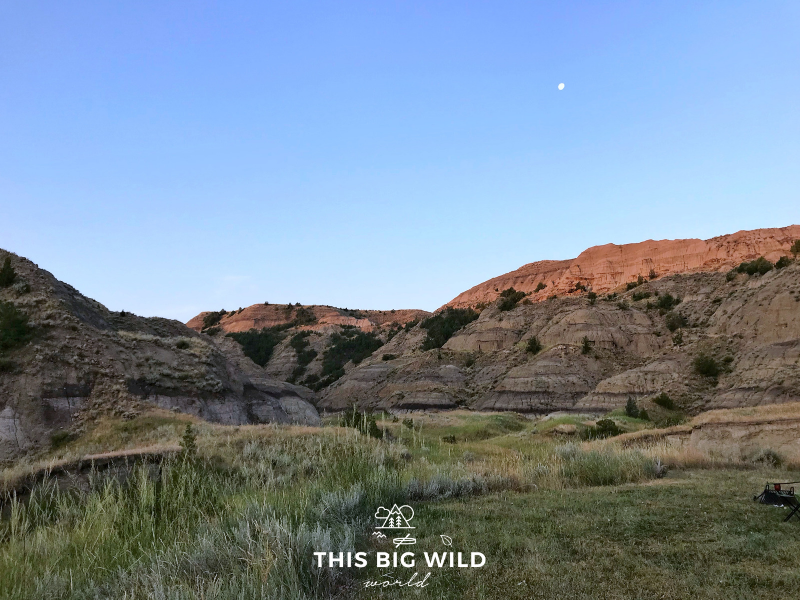 The most scenic state park in Montana is Makoshika State Park, which is home to Tyrannosaurus Rex and Triceratops fossils!