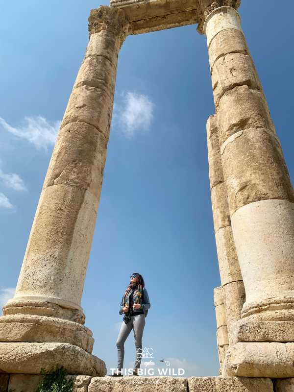 The Citadel sits atop a hill in the center of the capital city of Amman. While in Amman, be sure your Jordan itinerary includes a stop here!