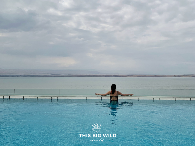 Relax and recharge as you take in the view of the Dead Sea and Israel from one of the many resorts along the water.