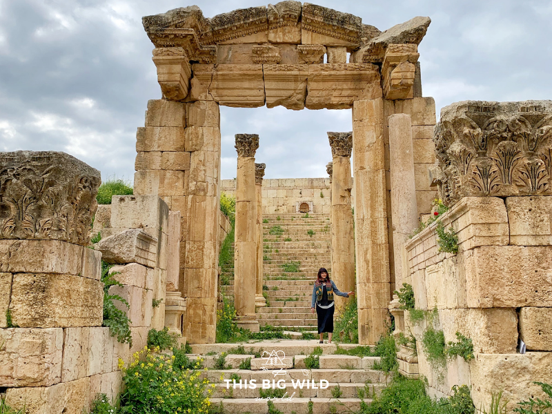 Jerash is an ancient Roman city near Amman. Wander through the ruins and imagine the chariot races, theater performances and festivals that were held here.