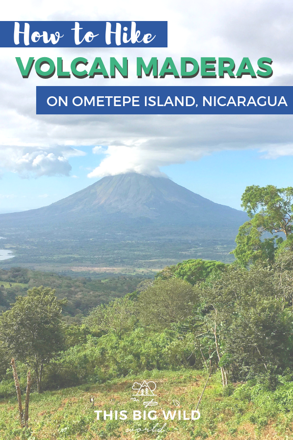 Ometepe Island is home to two epic volcano hikes, Volcano Maderas and Volcano Concepcion. Find out why I chose to hike Volcano Maderas, how to hire a guide and other tips to make the most of your hike! Don't miss the amazing views of Lake Nicaragua from above. #nicaragua #hiking #ometepe