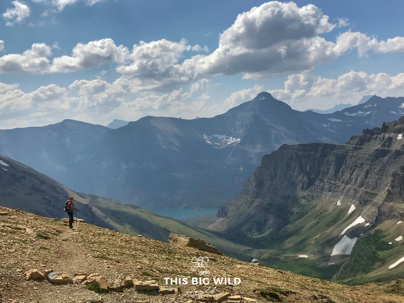 The scale of nature and isolation of hiking trails like this one in Glacier National Park gave me clarity on whether DNA testing was right for me.