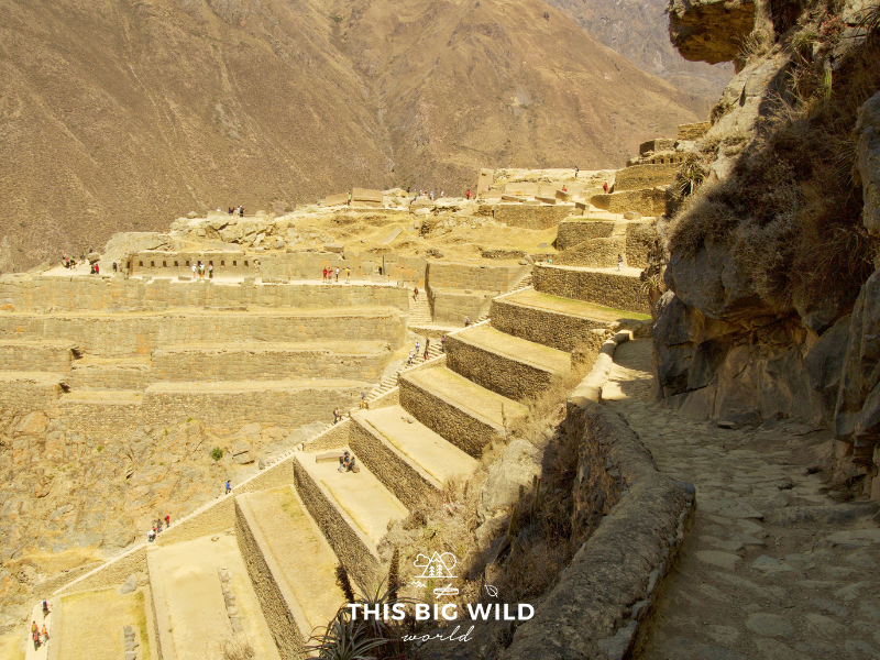 Don't miss seeing the Sun Temple and other ruins in Ollantaytambo along the Urubumba River near Cusco.