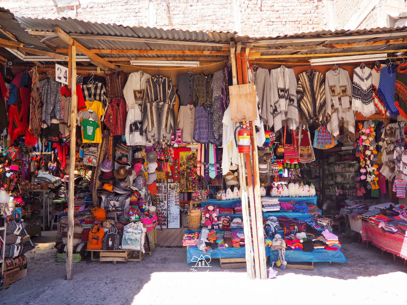 Be sure to buy some souvenirs at the local markets in Cusco.