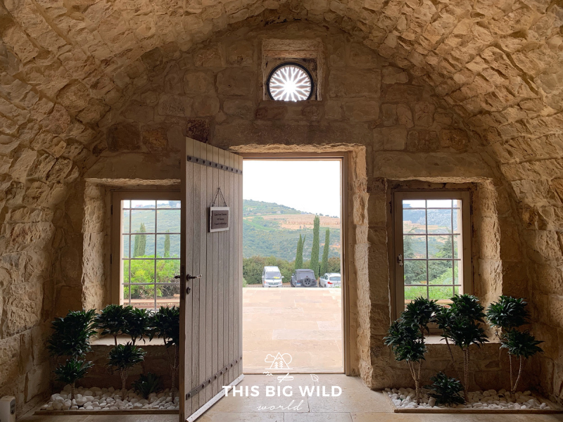 Stop for wine tasting and beautiful views at Ixsir Winery in Batroun during a daytrip from Beirut.