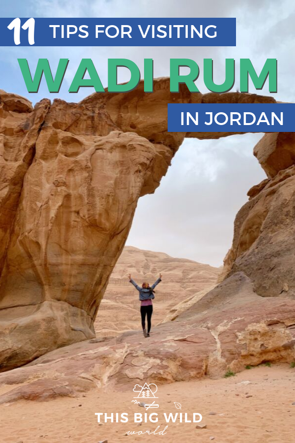 Wadi Rum is a must-visit destination in Jordan. A jeep tour is a popular and fun way to explore the area. These 11 tips will cover what the jeeps are like, what to see in Wadi Rum, where to camp in Wadi Rum and more. #wadirum #jordan #desert #middleeast #travel