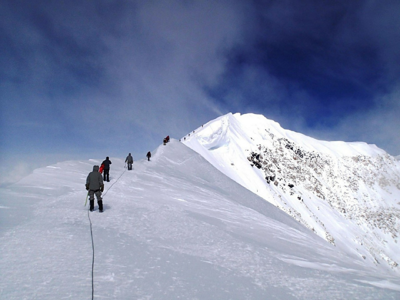 Denali, a mountain located in Alaska, is one of the most dangerous hikes in the US. More than 100 hikers have died attempting to reach its summit.