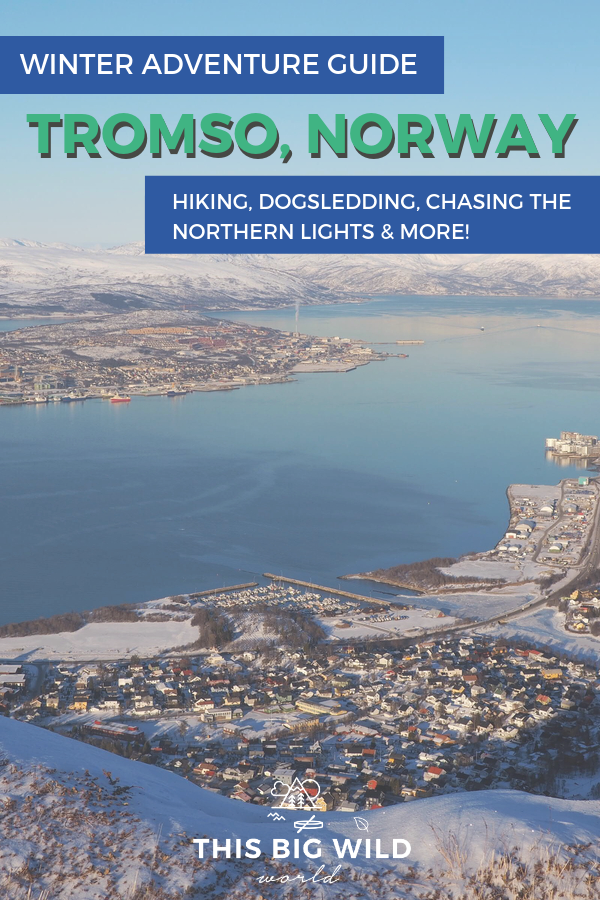 If you want to see the Northern Lights, Tromso just may be the perfect destination for you! This winter adventure guide for Tromso Norway covers things to do in Tromso in winter, where to stay in Tromso, Tromso tour reviews and more! Find out about my experiences and tips to see the Northern Lights and go dogsledding in Tromso. #Tromso #Norway #Norwaytravel #northernlights #auroraborealis #hiking #wintertravel