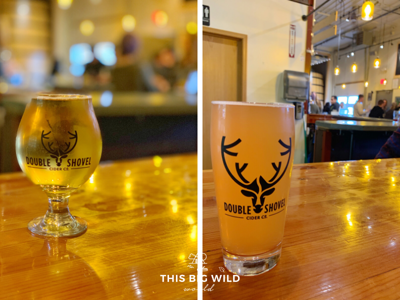 Enjoy the tastes of the first micro-cidery in Alaska at Double Shovel Cider Co.