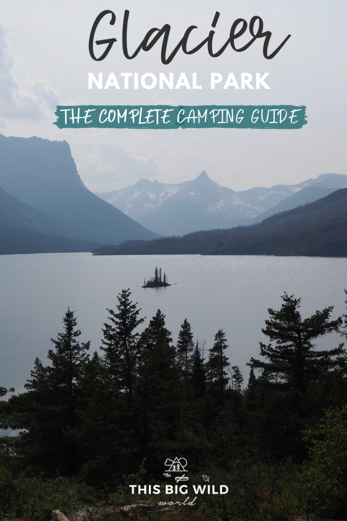 Glacier National Park, Montana is one of THE most beautiful US National Parks. This camping guide will cover tips for securing a camping spot, the best Glacier National Park hikes + more! #glaciernationalparkmontana #glaciernationalpark #USnationalpark