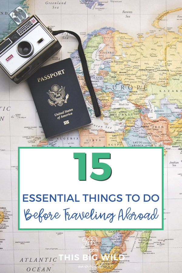 Are you getting ready to travel internationally? Find out the essential things to do before traveling abroad so that you can travel stress-free knowing you're prepared for the unexpected! pre travel checklist | to do list before international travel | what to do before traveling abroad | the essential international travel checklist #traveltips #internationaltravelchecklist #thingstodobeforetravelingabroad