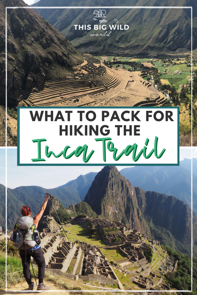 This tried & tested Inca Trail packing list for women includes hiking essentials for the Inca Trail, Peru as well as hiking tips & lessons learned. #incatrailpackingwomen #incatrailperu #incatrailessentials