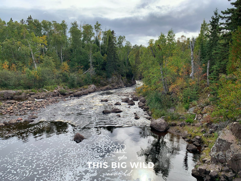 The Superior Hiking Trail is a 300+ miles trail that takes you through a series of water crossings, waterfalls, and dense forest with views of Lake Superior in northern Minnesota.