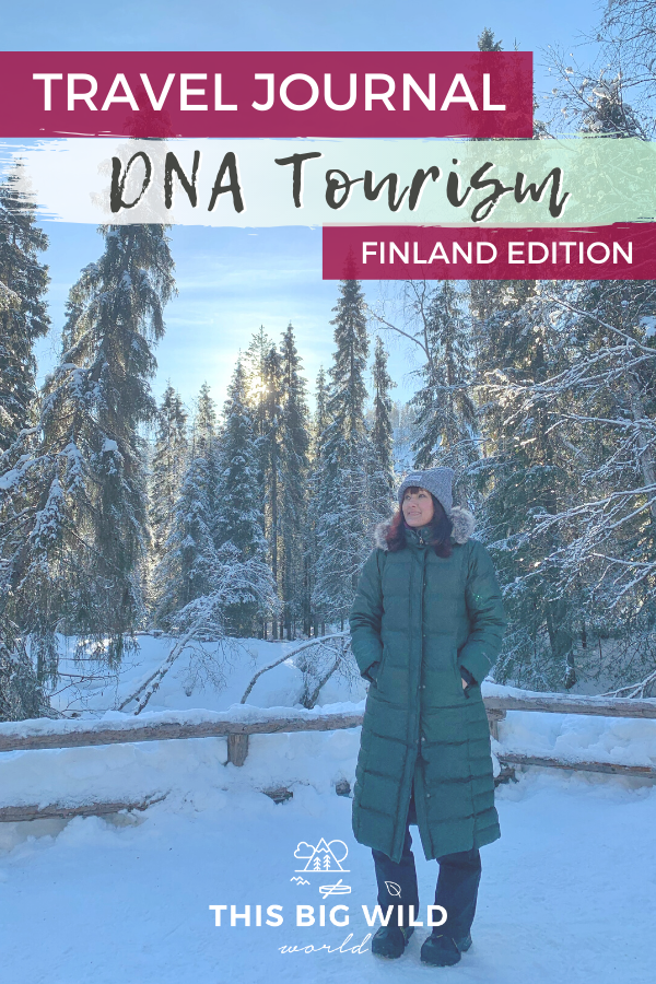 "This year I set out on a DNA travel journey to discover the story of ""me."" The first destination I visited from my DNA results is Finland. Here's my reflections on what I learned about myself through my time in Finland. #dnatesting #dnatravel #dnatourism #dna #ancestry 